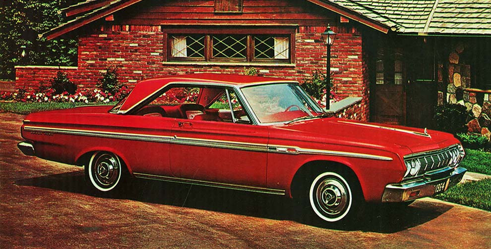 No Limits Magazine from Wild About Cars 1964 Plymouth Sport Fury Hardtop