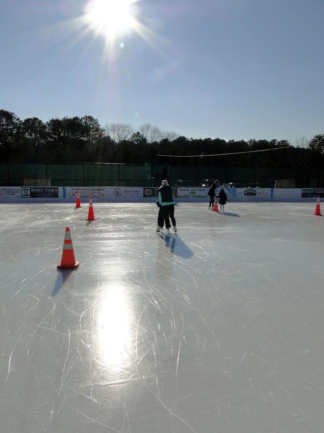 ice skating hamptons ny