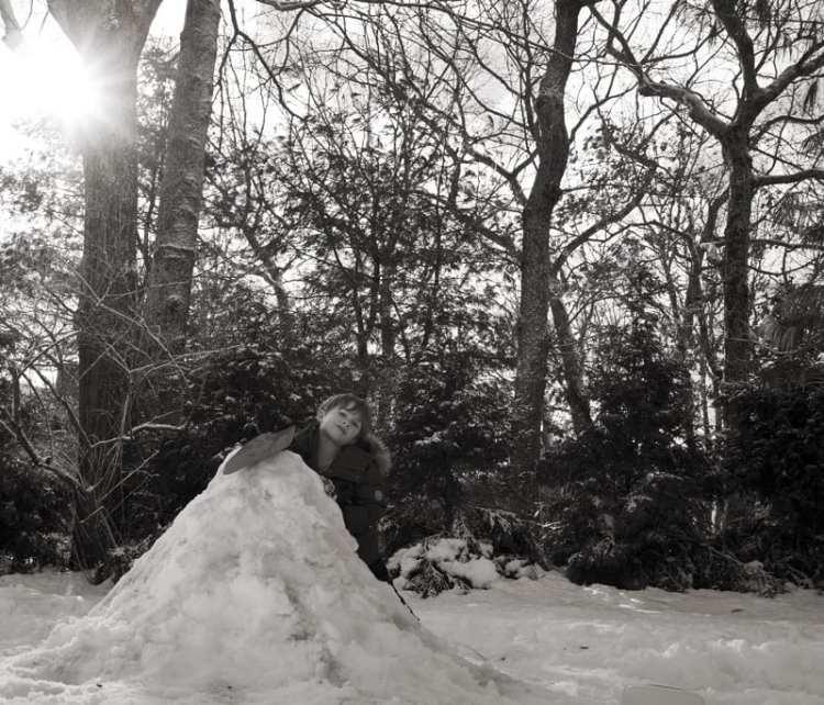 the snow volcano