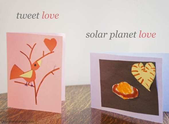 tweet love solar planet love valentine cards