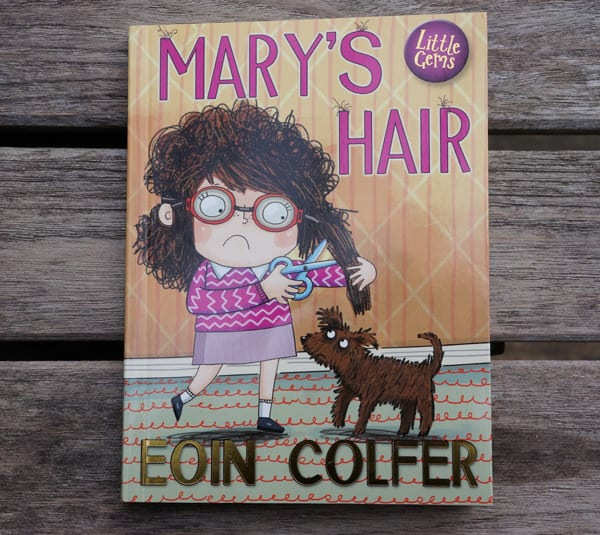 Mary's Hair Eoin Colfer comic childrens book