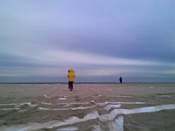 beach scene by theo
