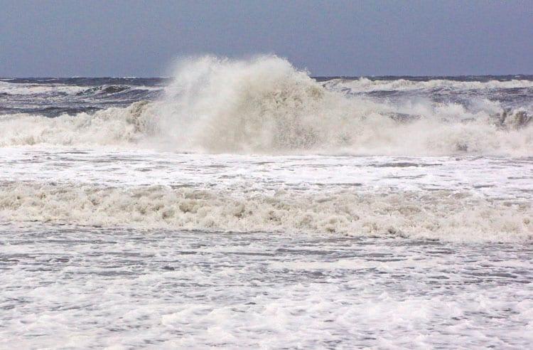 Stormy Waves Atlantic Beach Hamptons