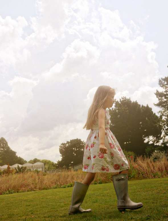 luce in wellies