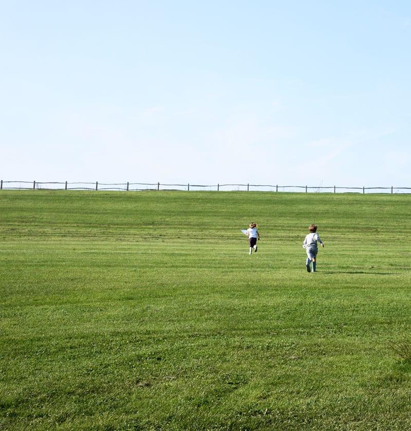 running slope Ardingly Reservoir