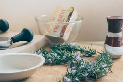 Rosemary Flower Butter