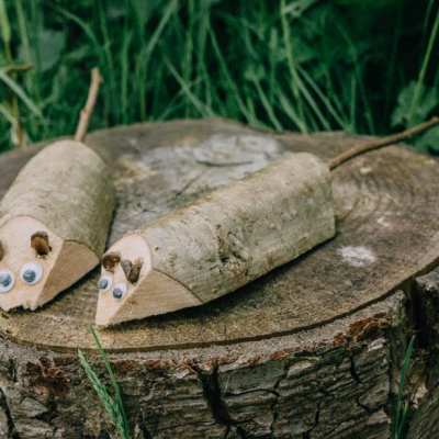How to make a wood dormouse