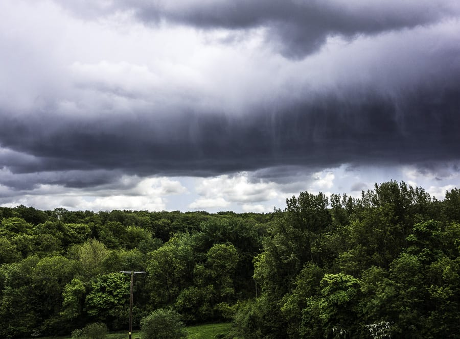 Spring thunderstorm