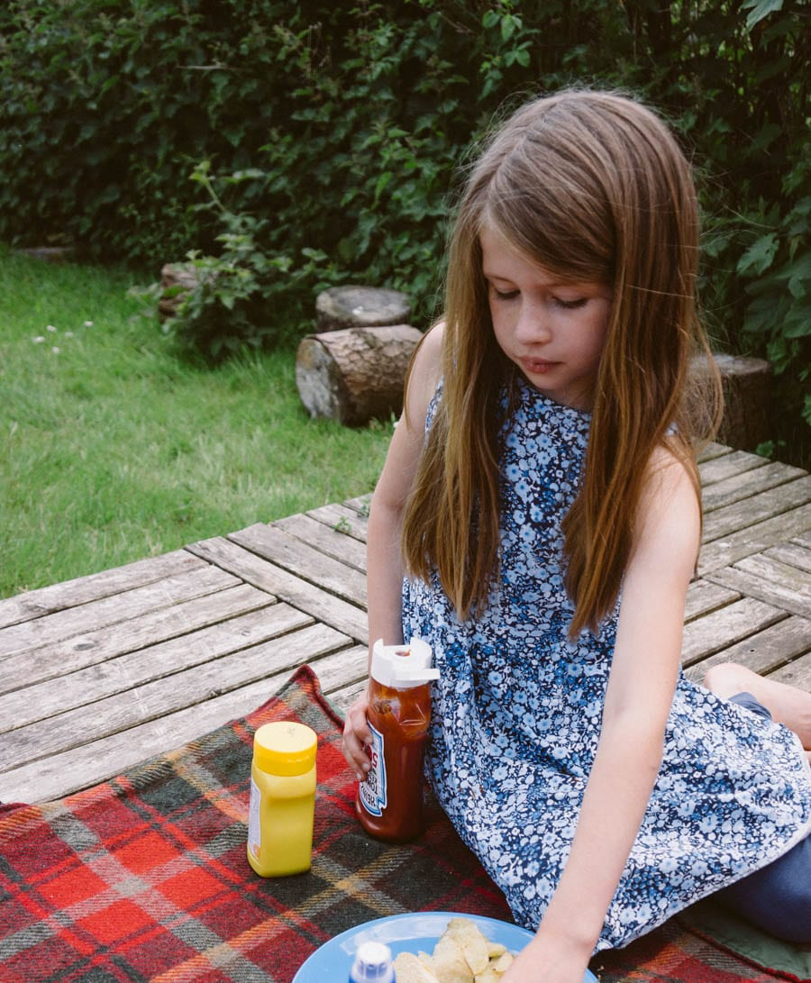 Luce at picnic