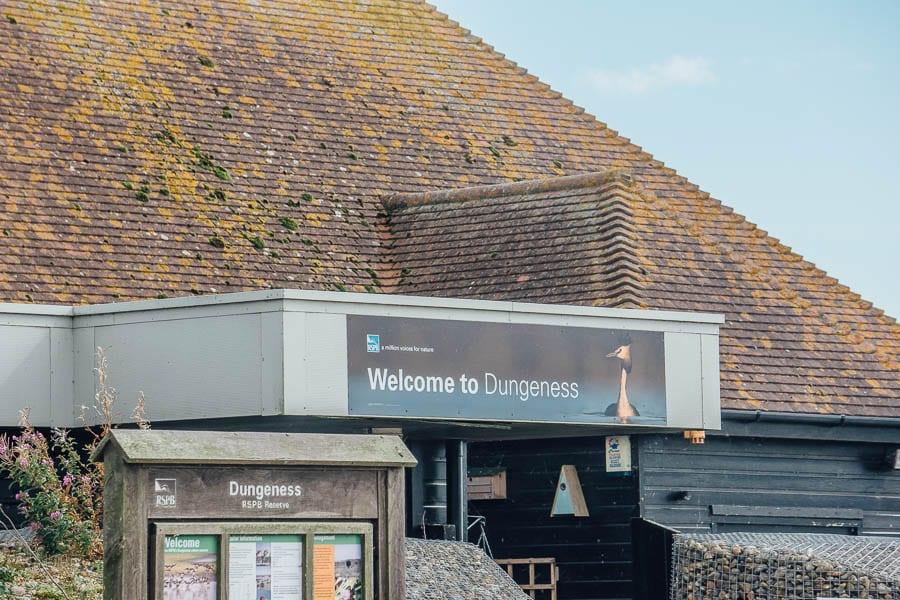 Entrance RSPB Dungeness