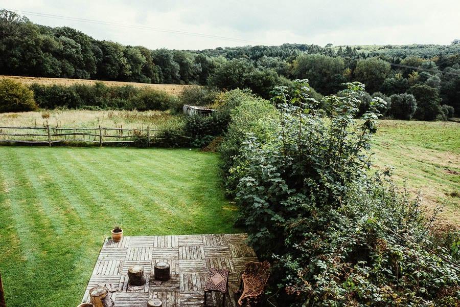 My garden and next door field