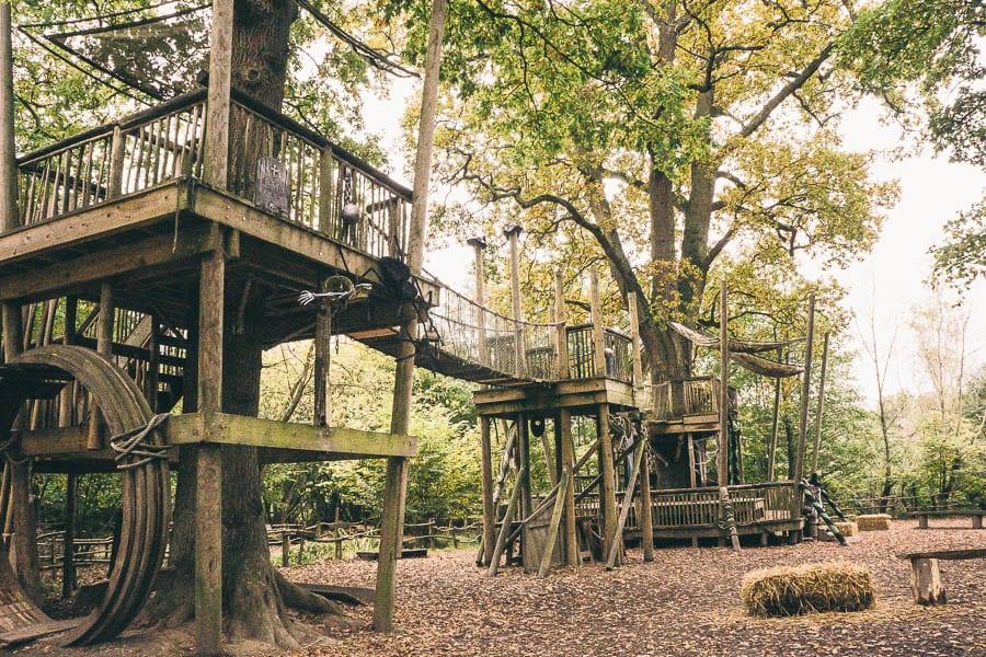 Groombridge Place Crusoe treehouses
