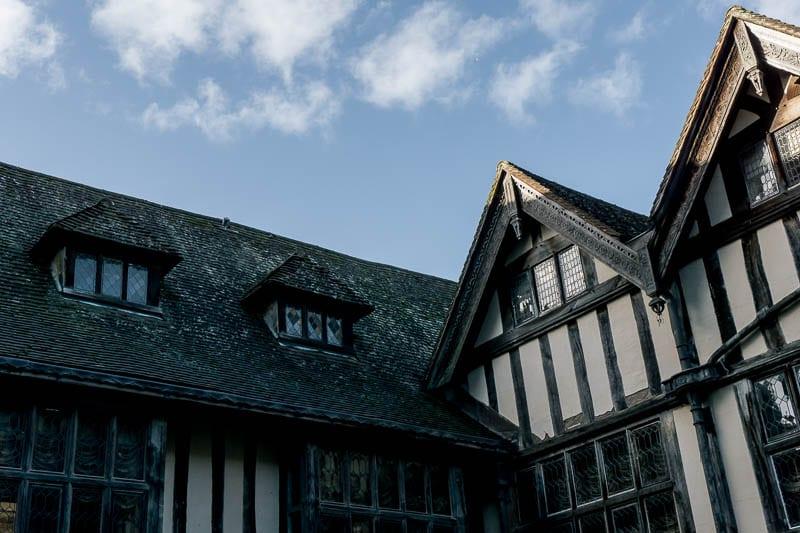 Hever Castle Tudor courtyard