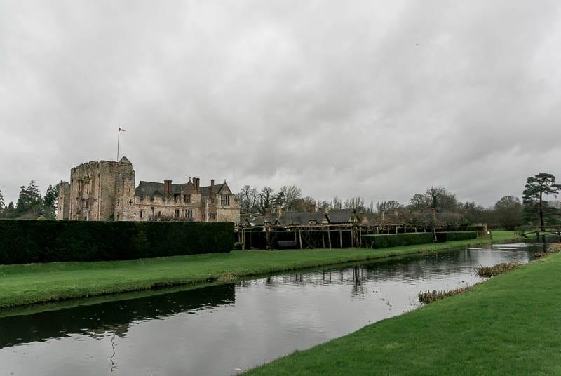 Hever Castle a winters tale