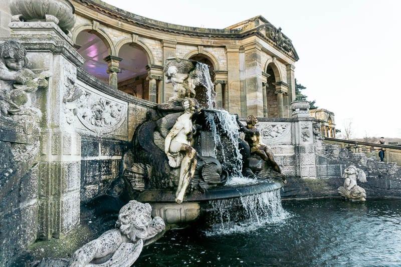 Hever Italian Garden fountain
