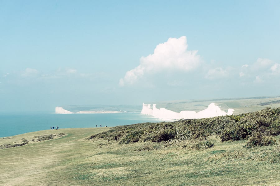 Walk with a view Birling Gap coastal cliff walk