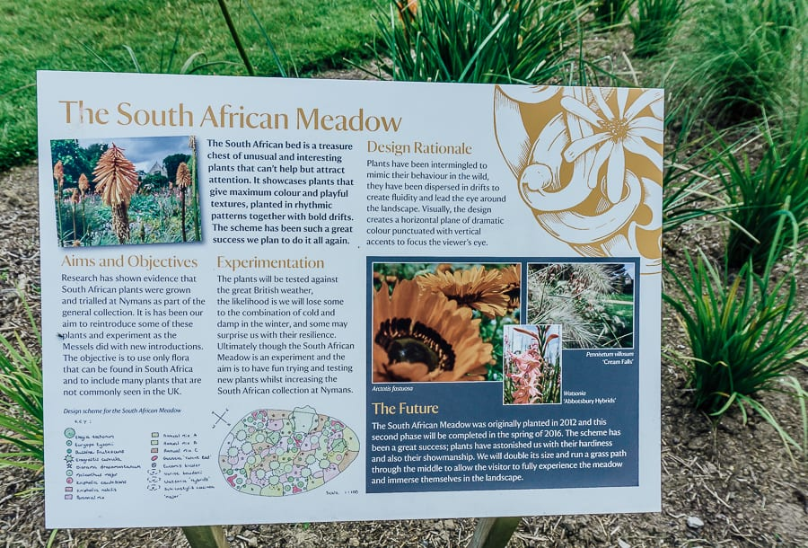 Nymans meadow south africa sign