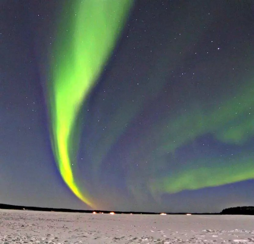 The Northern Lights!
