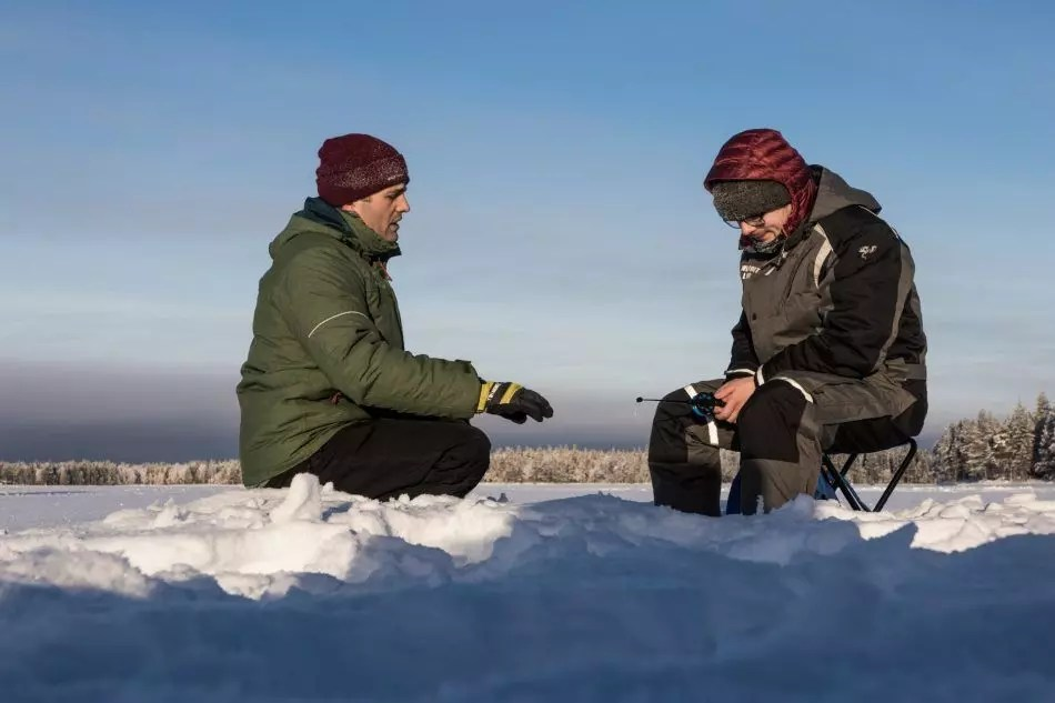 Snowshoeing and ice fishing tours!