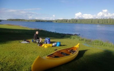 Canoeing the Kemijoki