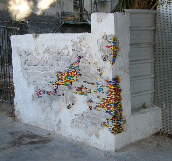 1. Broken wall needs patching? Check, LEGO can provide structural repair!