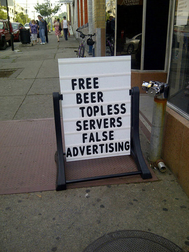 Bar Signs Too Clever To Resist (11)