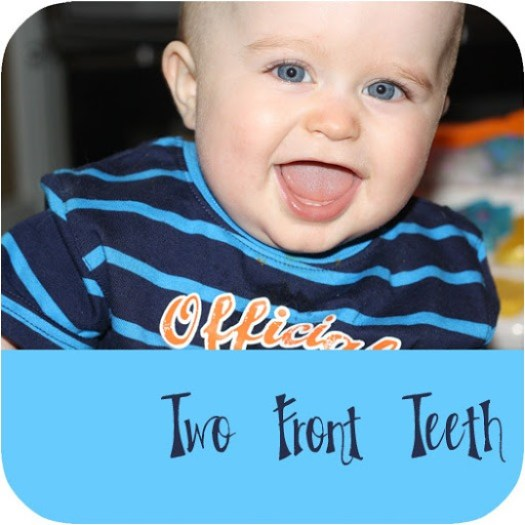 two front teeth
