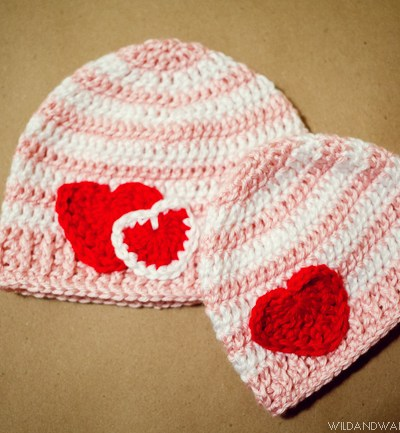 I Heart You | Free Crochet Hat Pattern