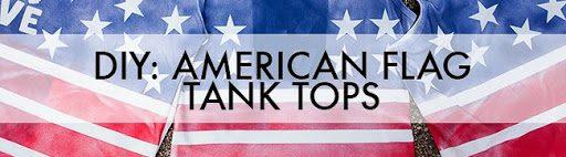 american flag tanks