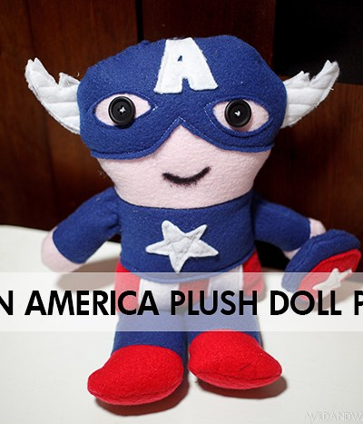 Captain America Plush Doll | Free Pattern!