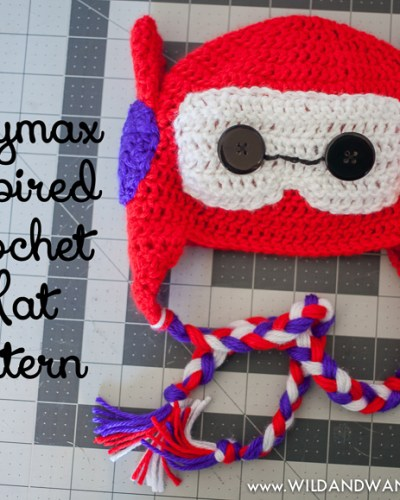 Baymax Inspired Hat | Free Crochet Pattern