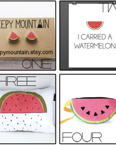 Etsy Love :: An Ode to Watermelon