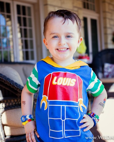 Turning 5 is Awesome! :: A Lego Party for Louis