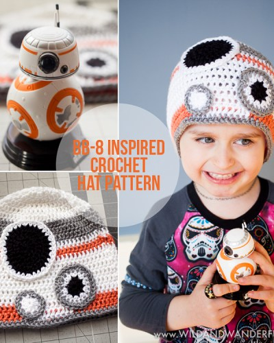 BB-8 Inspired Hat :: Free Crochet Pattern