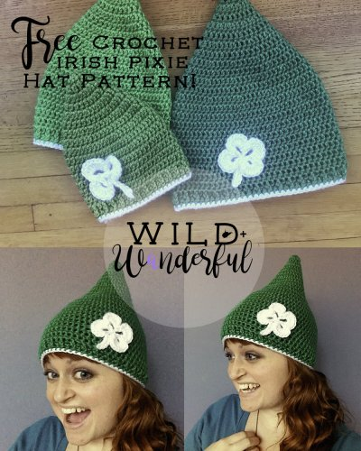 Irish Pixie Hat | Free Crochet Pattern!