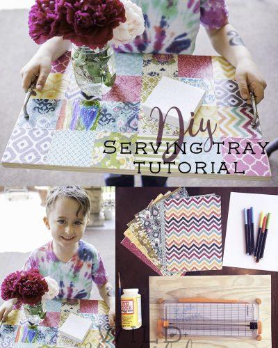 DIY Serving Tray Tutorial