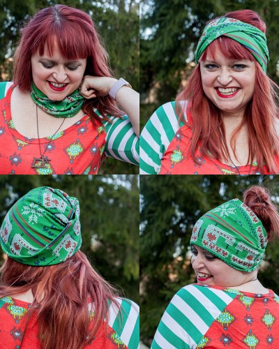 Slouchy Headwarmer :: 2017 Holiday Freebies with Patterns for Pirates