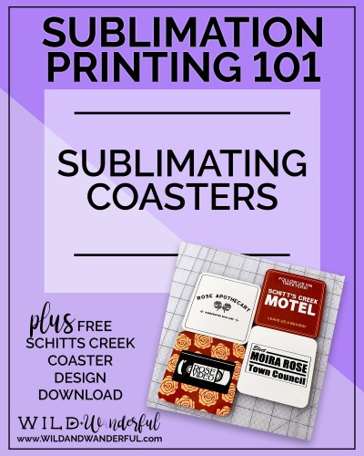 Sublimation Printing 101 | Sublimating Coasters