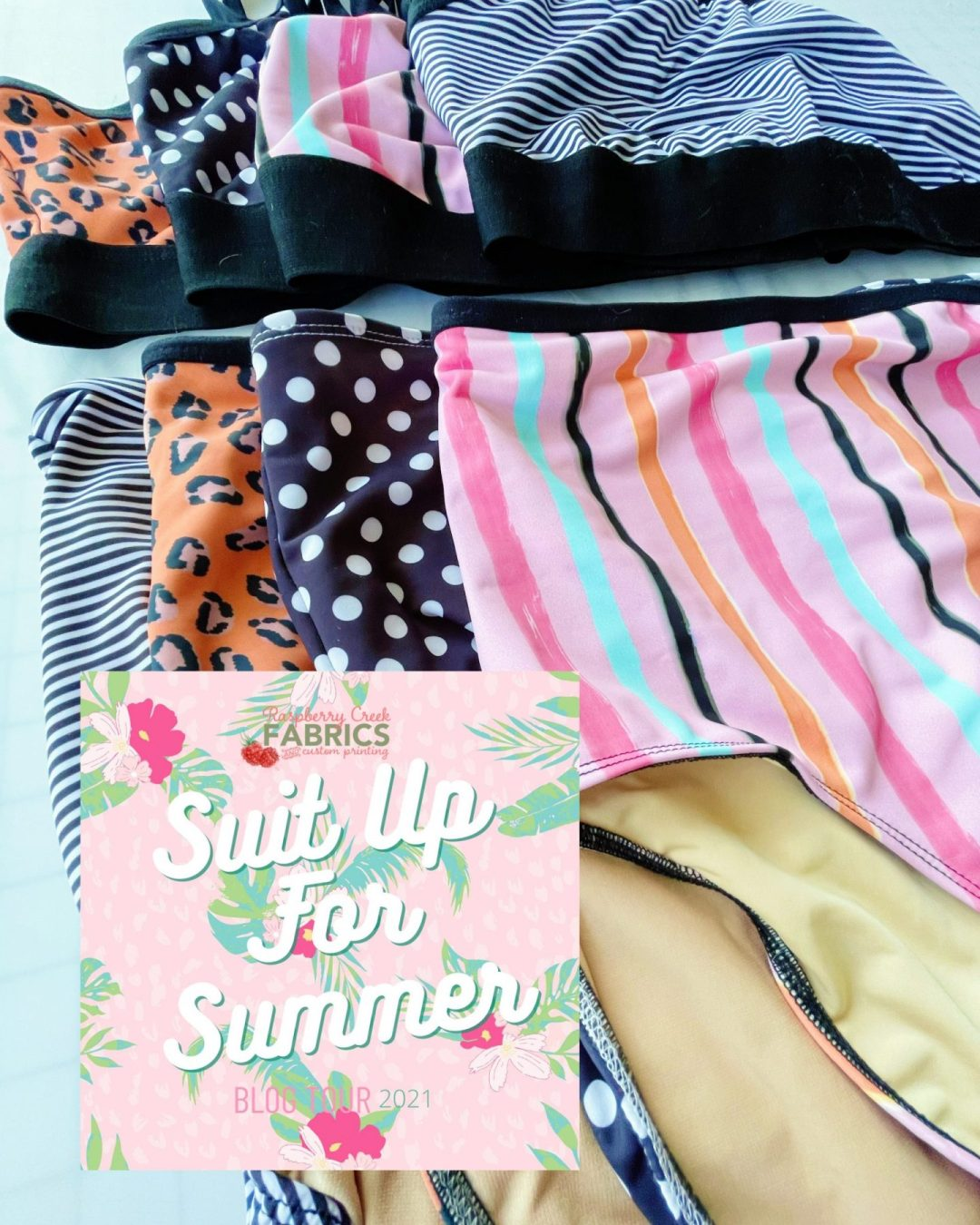 Suit Up for Summer with Raspberry Creek Fabrics!
