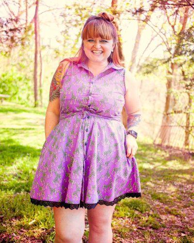 You Bet Giraffe I Made a Dress | Minerva Makers