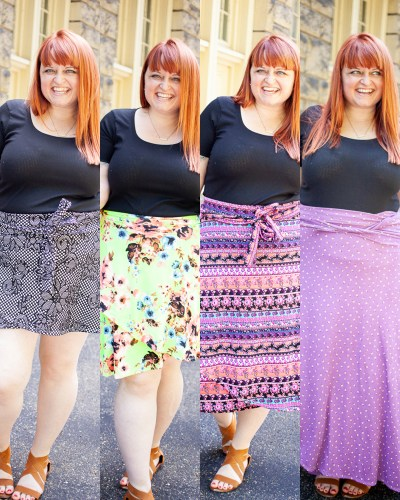 One Pattern, Four Lengths :: The [free!] Moseyer Skirt