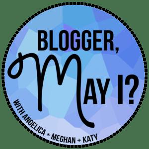#BloggerMayI