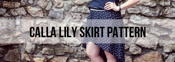 calla lily skirt
