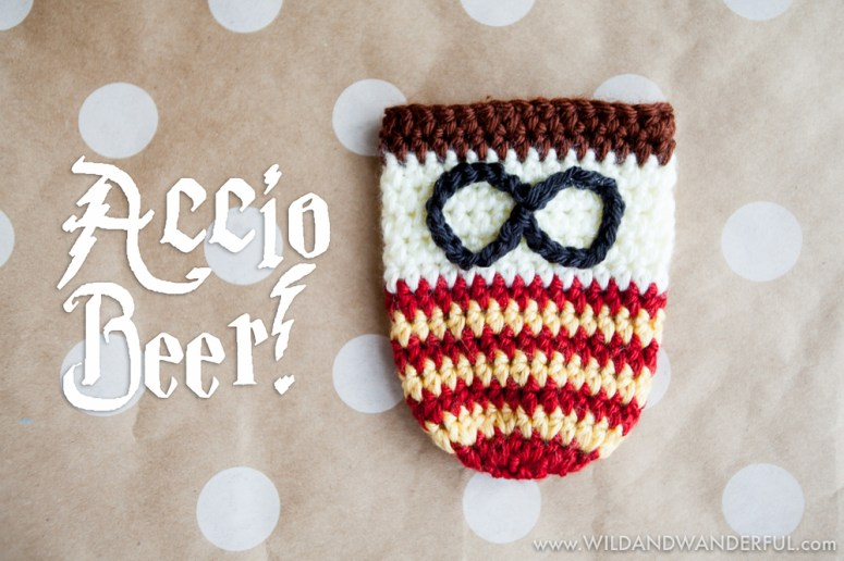 Harry Potter Inspired Beer Sweater Free Crochet Pattern Wild