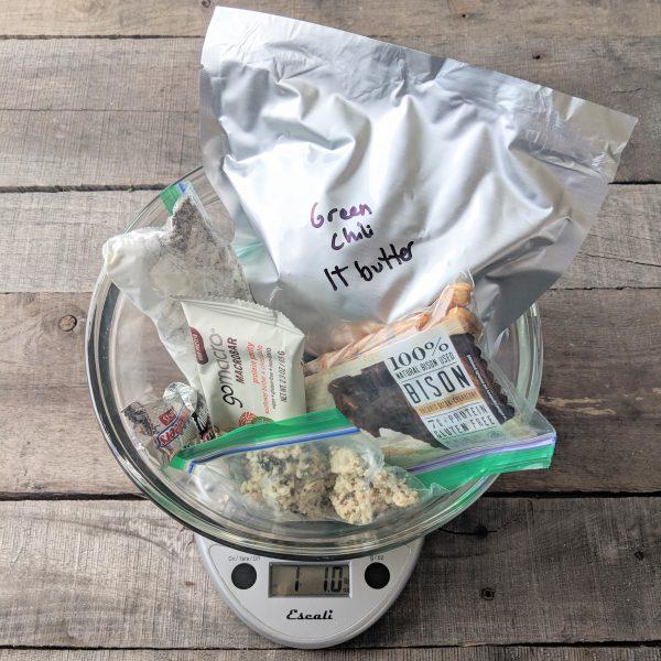DIY Low-carb backpackingfood