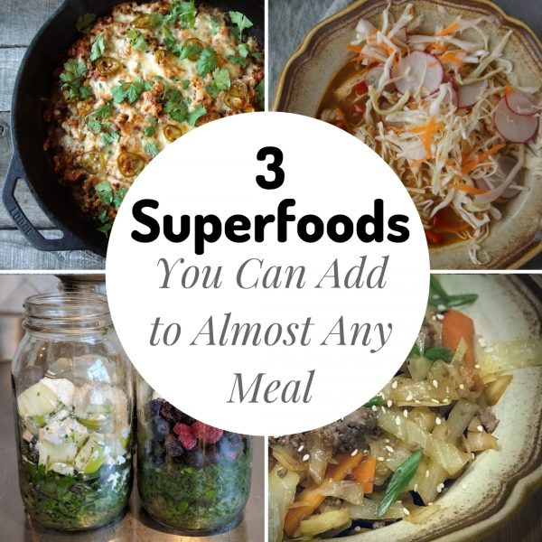3 superfoods you can add to any meal