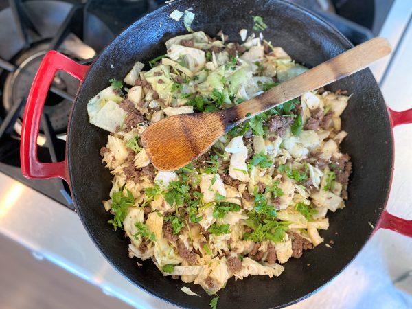5 Ingredient Egg Roll Bowl