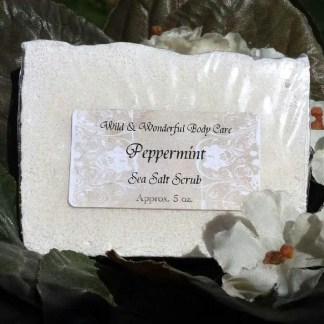 Peppermint Sea Salt Soap