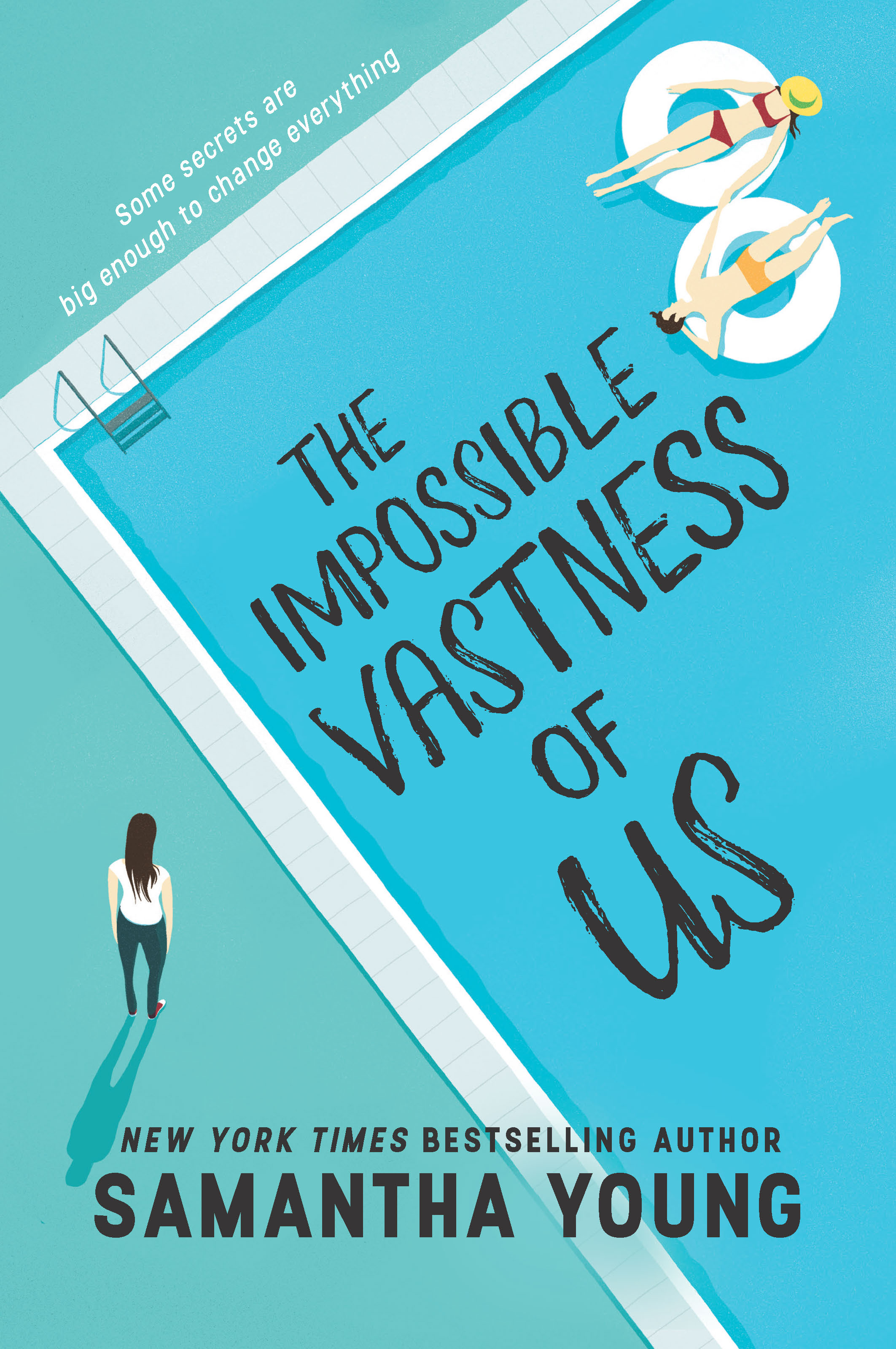 Release Day (paperback edition) + Excerpt: THE IMPOSSIBLE VASTNESS OF US by Samantha Young