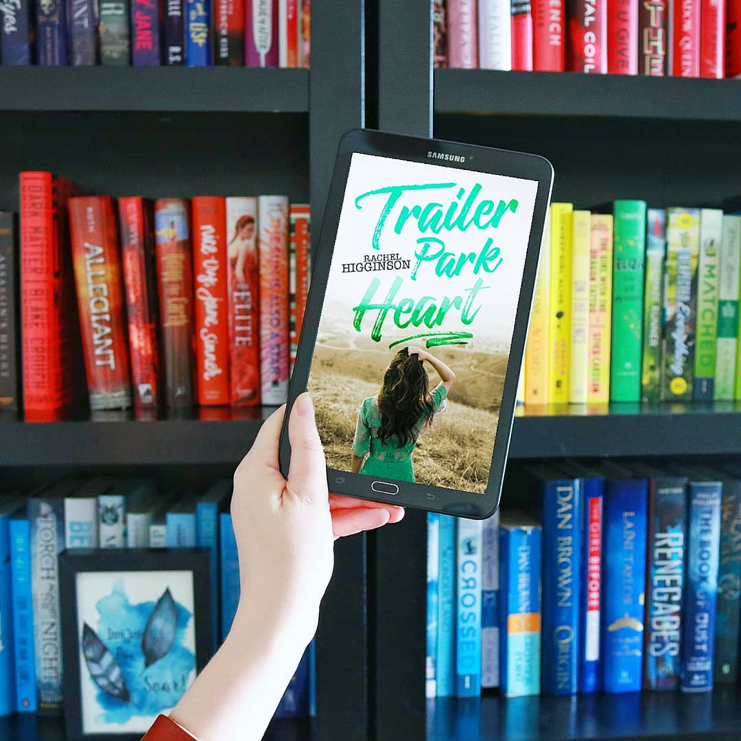 COVER REVEAL:  Trailer Park Heart by Rachel Higginson